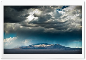 Mountain Rain HD Wide Wallpaper for Widescreen