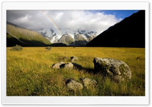 Mountain Rainbow HD Wide Wallpaper for Widescreen