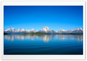 Mountain Range Skyline HD Wide Wallpaper for Widescreen
