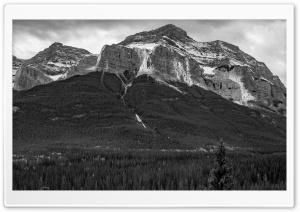 Mountain Range, Woods, Black...