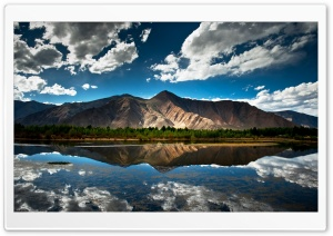 Mountain Reflection HD Wide Wallpaper for 4K UHD Widescreen desktop & smartphone