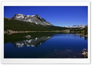 Mountain Reflection In Lake Ultra HD Wallpaper for 4K UHD Widescreen desktop, tablet & smartphone