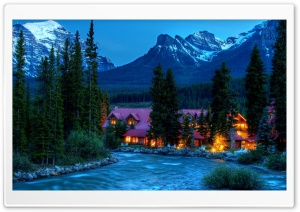 Mountain Resort Ultra HD Wallpaper for 4K UHD Widescreen desktop, tablet & smartphone