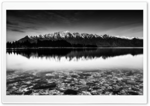 Mountain Ridge, Monochrome HD Wide Wallpaper for Widescreen