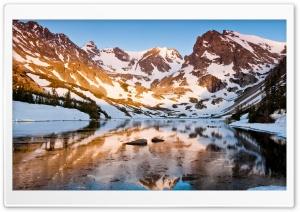 Mountain Ridge, Winter Ultra HD Wallpaper for 4K UHD Widescreen desktop, tablet & smartphone