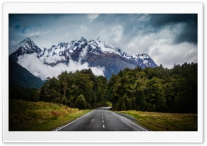 Mountain Road Ultra HD Wallpaper for 4K UHD Widescreen desktop, tablet & smartphone