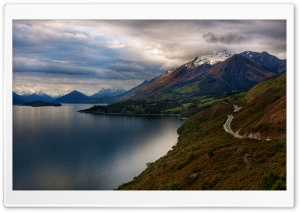 Mountain Road, Summer Ultra HD Wallpaper for 4K UHD Widescreen desktop, tablet & smartphone