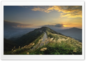 Mountain Road Top HD Wide Wallpaper for Widescreen