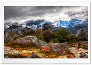 Mountain Rocks HD Wide Wallpaper for Widescreen