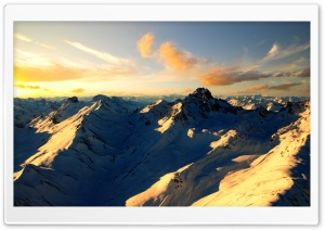Mountain Scenery HD Wide Wallpaper for Widescreen