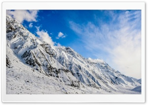 Mountain Snow HD Wide Wallpaper for Widescreen