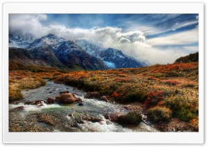 Mountain Stream HD Wide Wallpaper for Widescreen