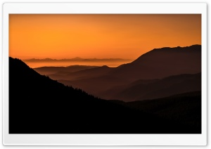Mountain Sunrise Ultra HD Wallpaper for 4K UHD Widescreen desktop, tablet & smartphone