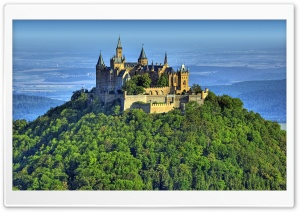 Mountain Top Castle HD Wide Wallpaper for Widescreen