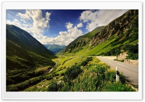 Mountain Valley HD Wide Wallpaper for Widescreen