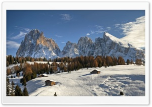 Mountain View, Winter HD Wide Wallpaper for Widescreen