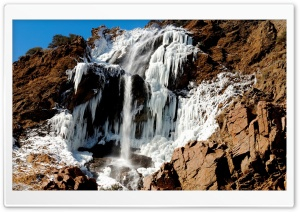 Mountain Waterfall 16 HD Wide Wallpaper for Widescreen