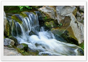 Mountain Waterfall 26 HD Wide Wallpaper for Widescreen