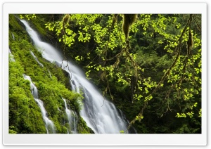 Mountain Waterfall HD Wide Wallpaper for 4K UHD Widescreen desktop & smartphone