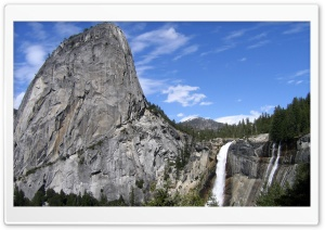 Mountain Waterfalls HD Wide Wallpaper for Widescreen