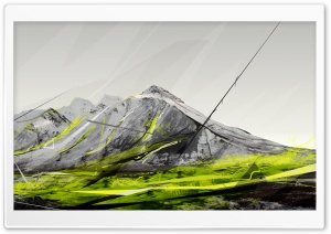 Mountains Creative Design HD Wide Wallpaper for 4K UHD Widescreen desktop & smartphone