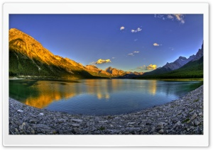 Mountains Fisheye Ultra HD Wallpaper for 4K UHD Widescreen desktop, tablet & smartphone