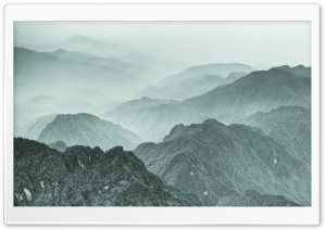Mountains In China HD Wide Wallpaper for Widescreen
