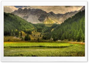 Mountains In The Spring HD Wide Wallpaper for Widescreen