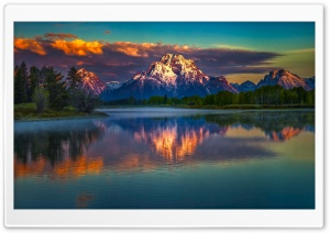 Mountains, Nature, Lake Ultra HD Wallpaper for 4K UHD Widescreen desktop, tablet & smartphone