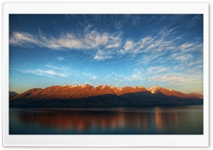 Mountains On The Way To Glenorchy HD Wide Wallpaper for Widescreen