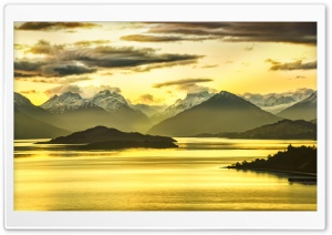 Mountains Panorama, HDR Ultra HD Wallpaper for 4K UHD Widescreen desktop, tablet & smartphone