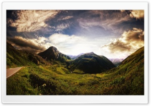 Mountains Scenery HD Wide Wallpaper for Widescreen
