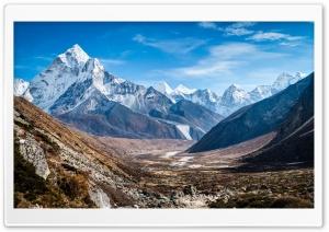 Mountains, Valley, Nature Ultra HD Wallpaper for 4K UHD Widescreen desktop, tablet & smartphone