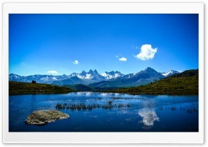 Mountainscape HD Wide Wallpaper for Widescreen