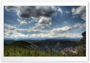 Mountainscape HDR HD Wide Wallpaper for 4K UHD Widescreen desktop & smartphone