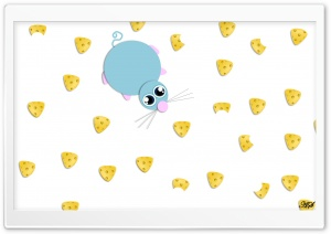 Mouse and Cheese HD Wide Wallpaper for Widescreen