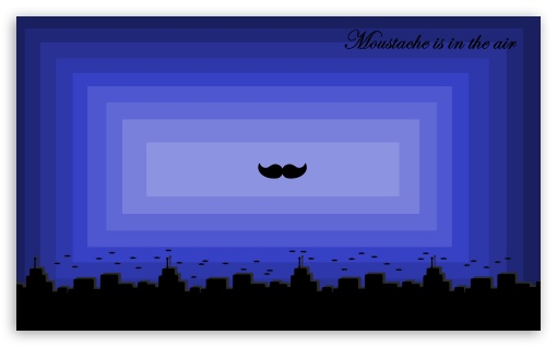 Moustache is in the Air HD wallpaper for Wide 5:3 Widescreen WGA ; HD 16:9 High Definition WQHD QWXGA 1080p 900p 720p QHD nHD ; UHD 16:9 WQHD QWXGA 1080p 900p 720p QHD nHD ; Mobile 5:3 16:9 - WGA WQHD QWXGA 1080p 900p 720p QHD nHD ;