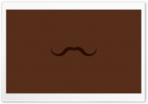 Moustache Vector Art Ultra HD Wallpaper for 4K UHD Widescreen desktop, tablet & smartphone