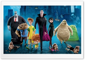Movie Hotel Transylvania 2 2015 HD Wide Wallpaper for Widescreen