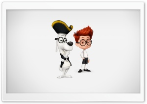 Mr. Peabody & Sherman Ultra HD Wallpaper for 4K UHD Widescreen desktop, tablet & smartphone