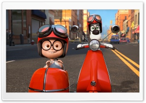 Mr. Peabody & Sherman (2014) Ultra HD Wallpaper for 4K UHD Widescreen desktop, tablet & smartphone