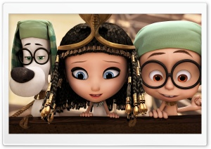 Mr. Peabody, Sherman and Penny Peterson 2014 Ultra HD Wallpaper for 4K UHD Widescreen desktop, tablet & smartphone