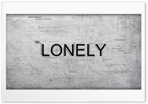 Mr.Lonely HD Wide Wallpaper for Widescreen