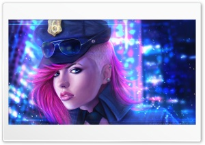Mrs Officer HD Wide Wallpaper for 4K UHD Widescreen desktop & smartphone