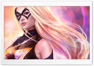 Ms Marvel HD Wide Wallpaper for Widescreen
