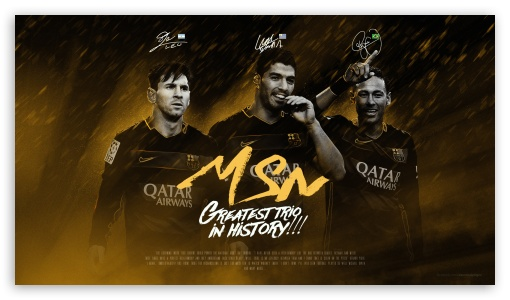 Download MSN Messi Suarez Neymar HD Wallpaper