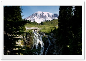 Mt Rainier, Washington HD Wide Wallpaper for Widescreen