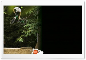 MTB Dirt Jump HD Wide Wallpaper for Widescreen