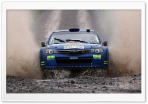 Mud Rally HD Wide Wallpaper for Widescreen