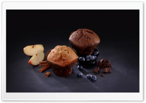 Muffins HD Wide Wallpaper for 4K UHD Widescreen desktop & smartphone